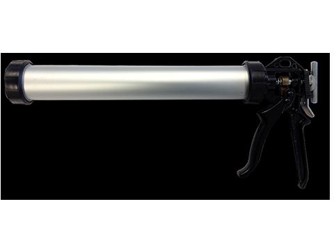 Hand gun for foil packs